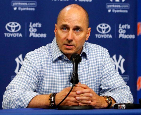New York Yankees general manager Brian Cashman talks