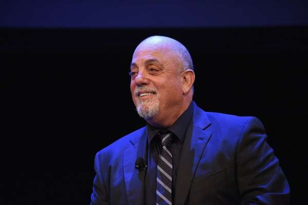 Billy Joel was seen dining at Nick &