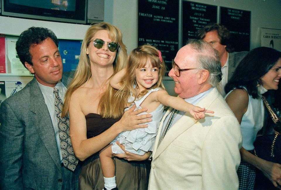 Dec. 29 (1985): Joel and then-wife Christie Brinkley