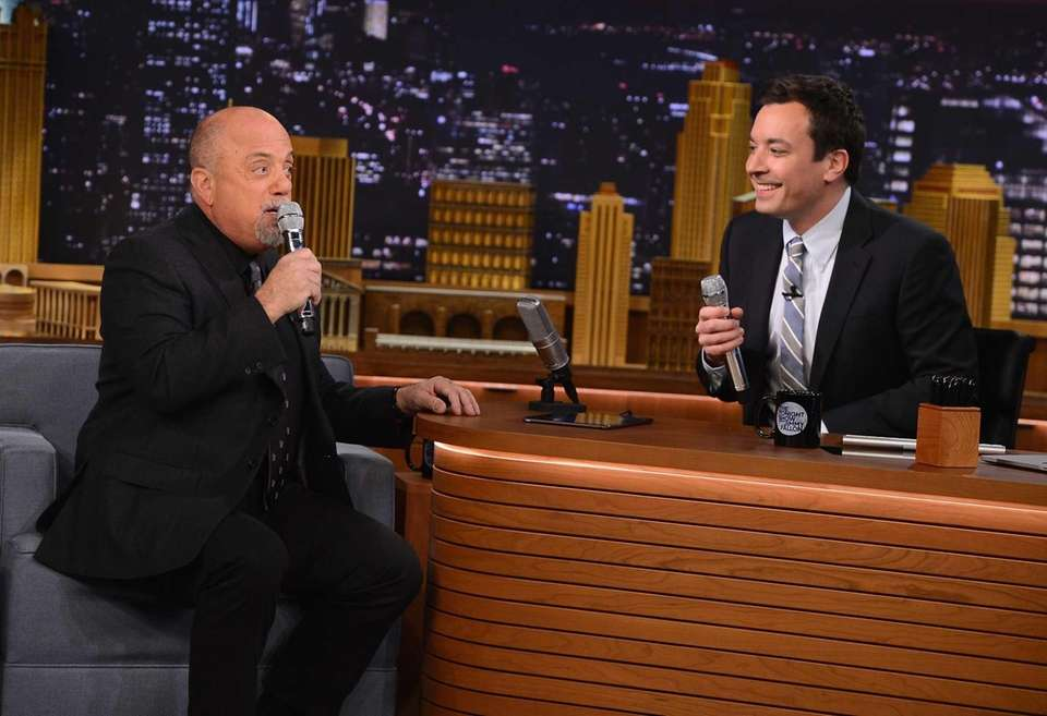 March 20, 2014: Billy Joel joins Jimmy Fallon