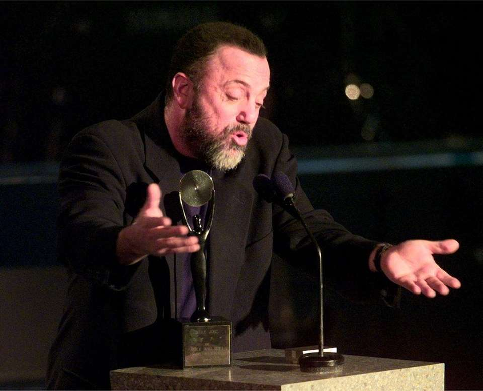 March 15, 1999: Billy Joel is inducted into