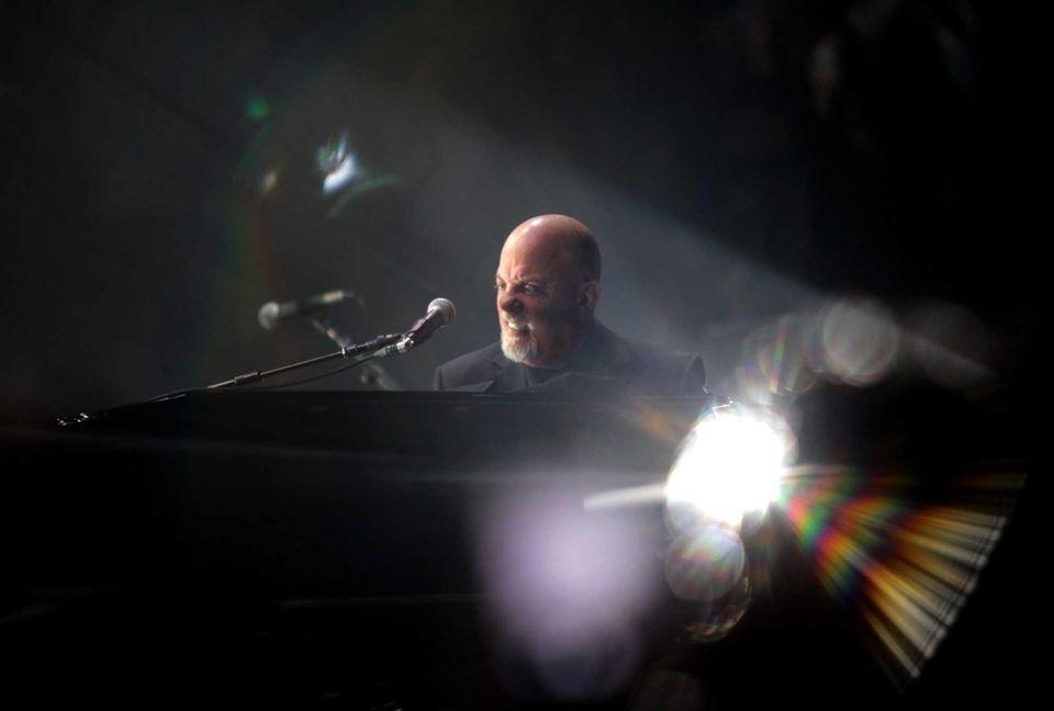April 18, 2014: Billy Joel performs liveat Madison