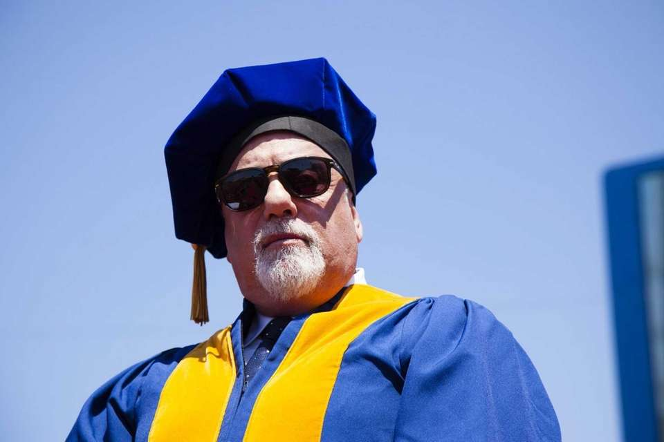 May 22, 2015: Billy Joel receives a doctorate