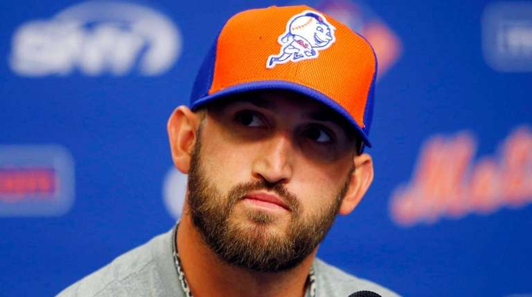 Jonathon Niese of the New York Mets speaks
