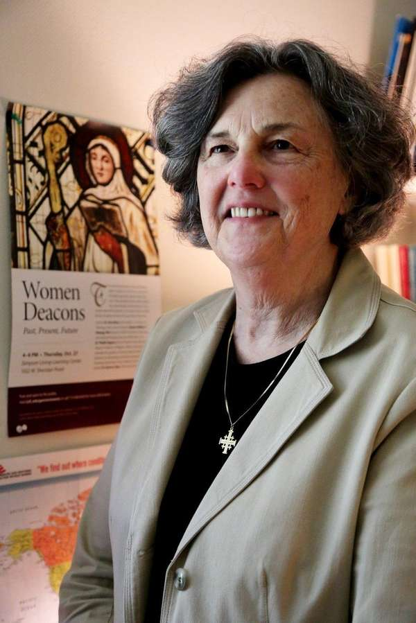 Phyllis Zagano, senior research associate-in-residence in Hofstra University's