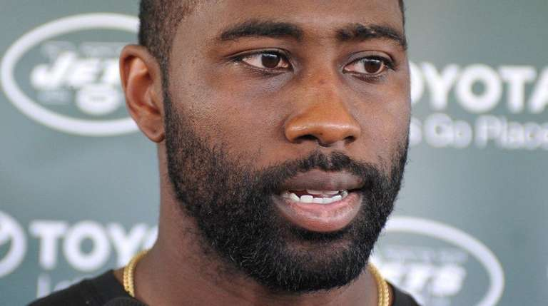 New York Jets cornerback Darrelle Revis practiced briefly