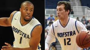 This Newsday composite image shows former Hofstra men's