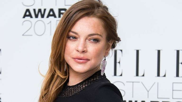 Lindsay Lohan is not pregnant, according to her