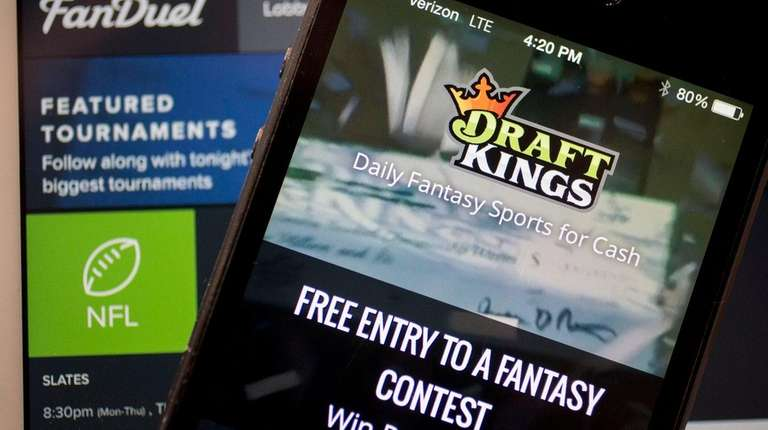 FanDuel and Draft Kings are two major fantasy