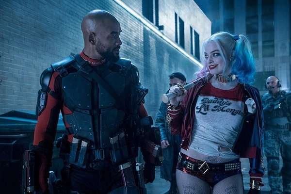 Will Smith is Deadshot and Margot Robbie is