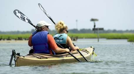 Explore 10 miles of dunes between Barnegat Bay