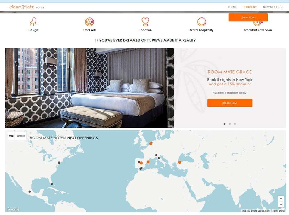Room Mate Hotels (room-matehotels.com) WHAT IT IS A