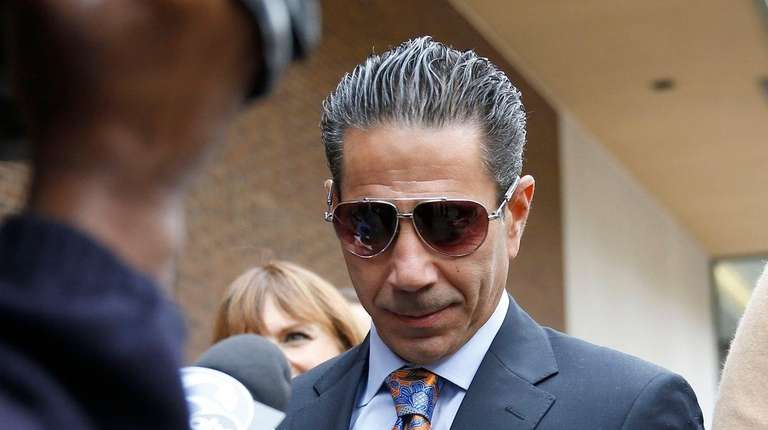 Joey Merlino leaves after appearing in federal court