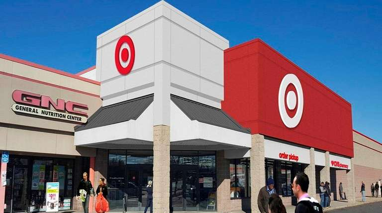 Rendering of the new Target store planned at