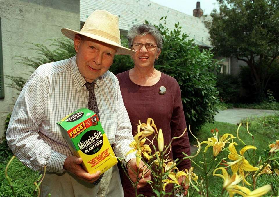 If you've ever used Miracle-Gro fertilizer on your