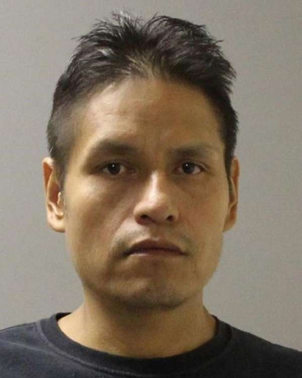 Mauricio Chalpeno, 41, of St. James, was arrested