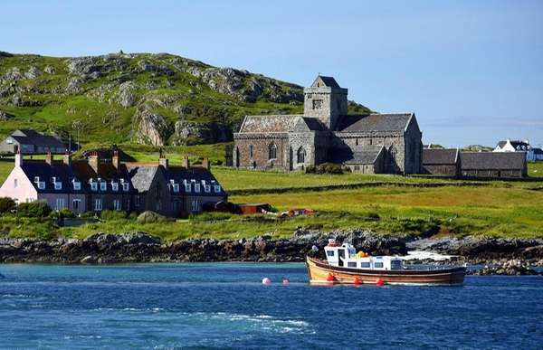 The Isle of Iona is the birthplace of