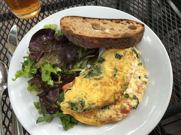 The Greek omelet at Beth's Cafe in Quogue