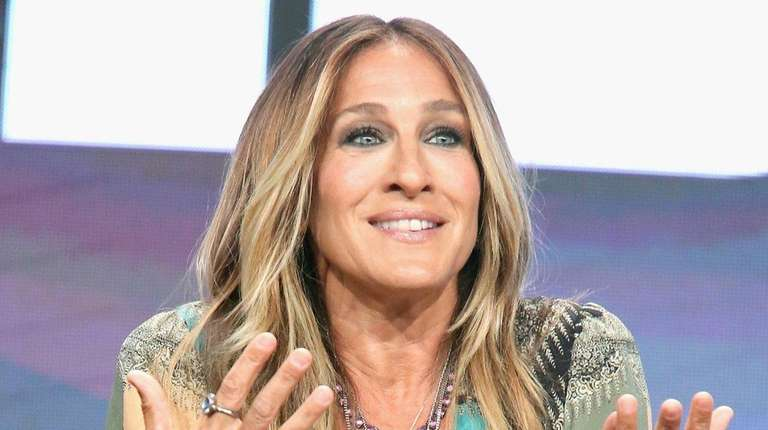 Actress Sarah Jessica Parker speaks onstage during the