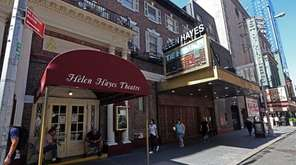 At the Helen Hayes, the Second Stage Theatre