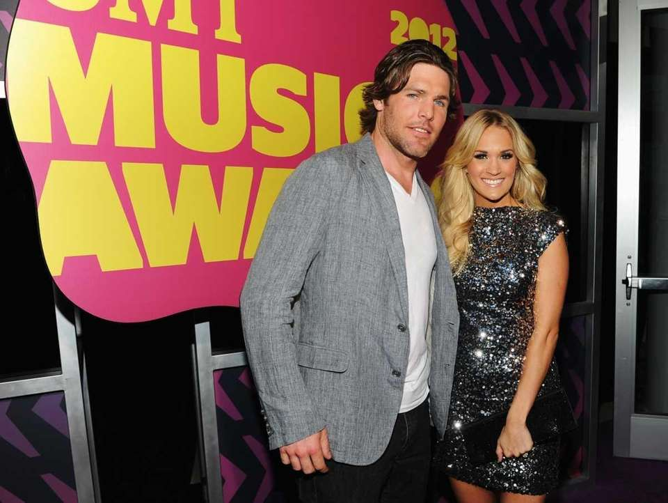 Grammy-winning country singer Carrie Underwood married NHL player