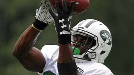 Quincy Enunwa of the New York Jets makes
