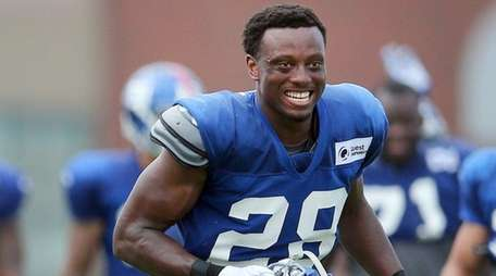 New York Giants corner back Eli Apple (28)