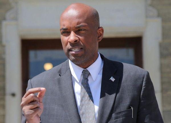 Nassau County Democratic Minority Leader Kevan Abrahams in