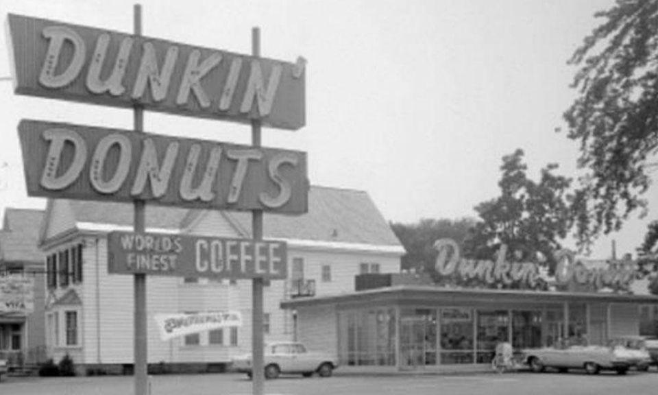 Dunkin' Donuts began as a restaurant called Open