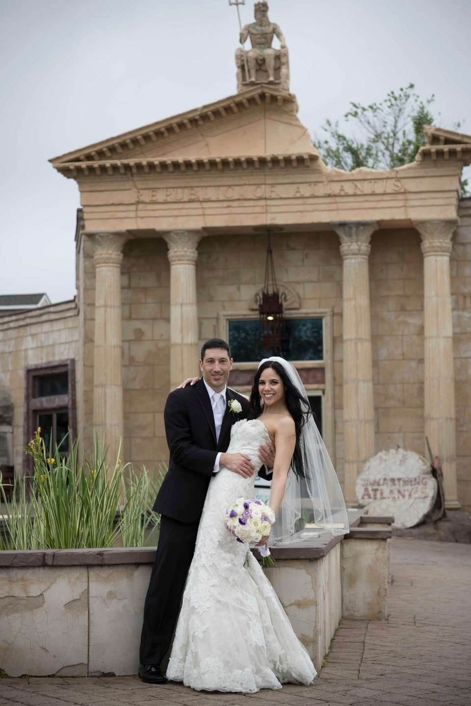 Michael and Aliza Batih tied the knot at