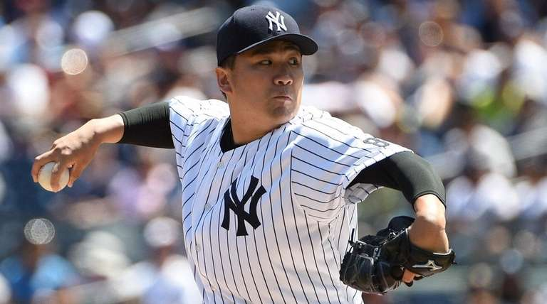 Masahiro Tanaka had one of his best