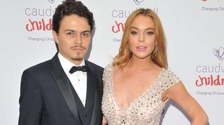Lindsay Lohan said she has not seen her