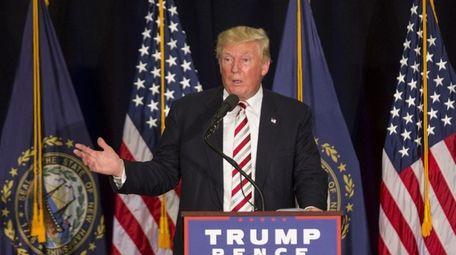 On Saturday, Aug. 6, 2016, Donald Trump pounced