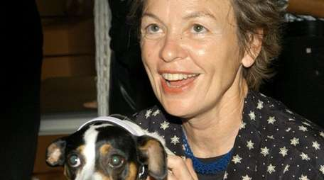 Laurie Anderson is bringing her Concert for