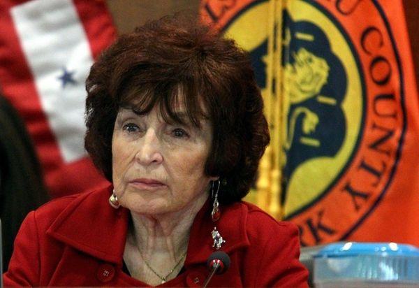 Norma Gonsalves, presiding officer of Nassau County Legislature,