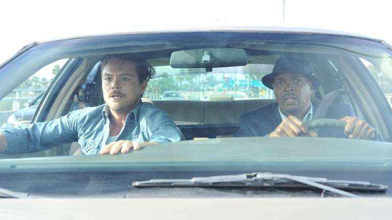 Clayne Crawford, left, and Damon Wayans Sr. will