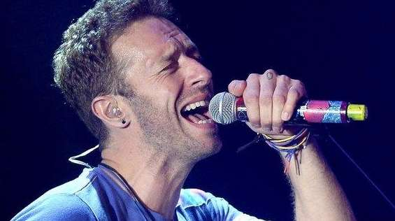 Chris Martin and Coldplay performed at Stephen Talkhouse