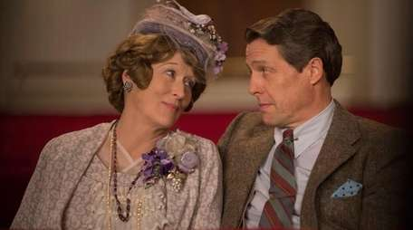 Meryl Streep as Florence Foster Jenkins and Hugh