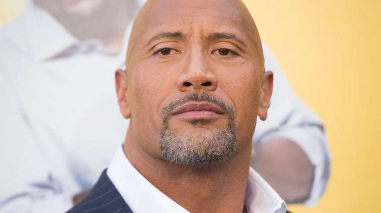 Actor Dwayne Johnson calls out some of his