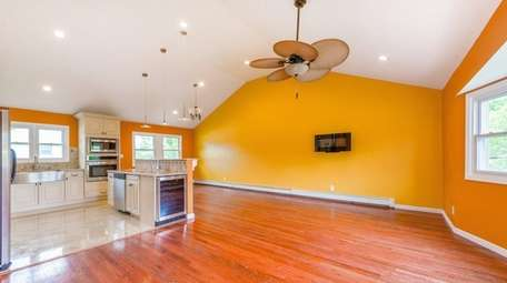 This North Bellmore split-level house, on the market