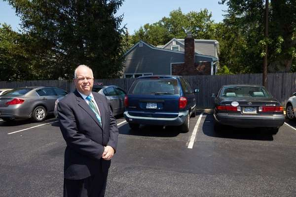 North Babylon Public Library director Marc Horowitz, seen