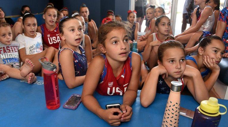 Young future Olympic hopefuls gathered at Infiniti Elite