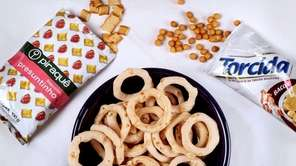 Crispy, crunchy snack items from Brazil are among