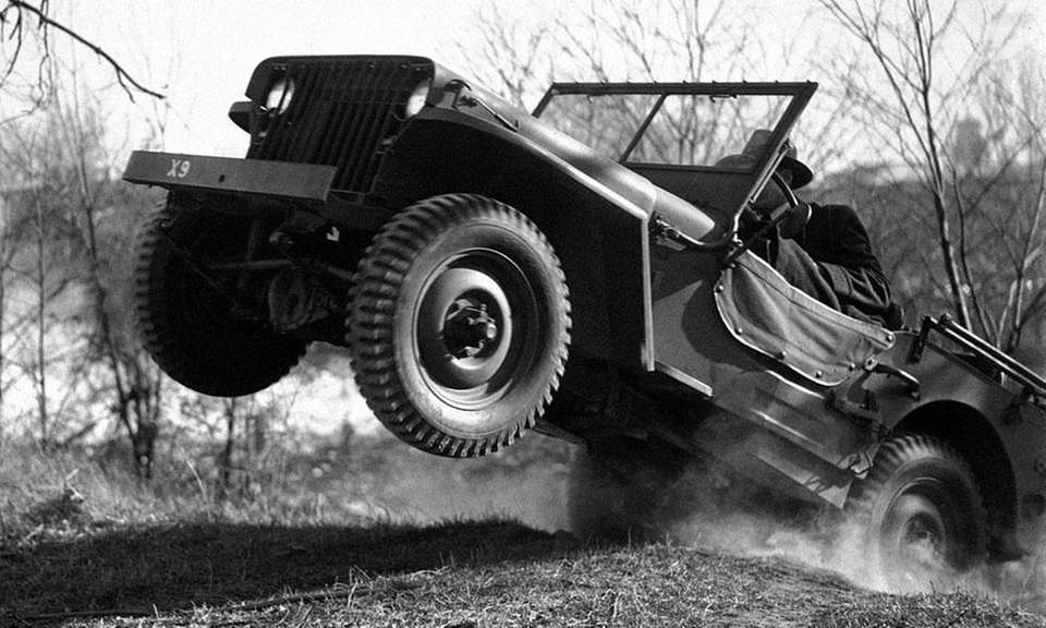 During World War II, the Willys MB was