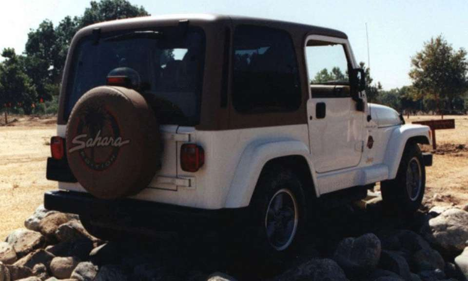 The Jeep CJ was rebranded the Jeep Wrangler
