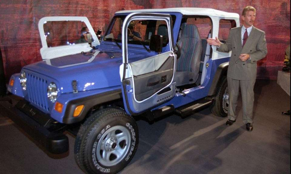 The Jeep Wrangler is the only car that
