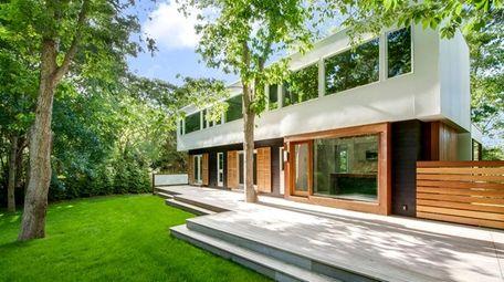 This brand new, custom 3,600 square-foot East Hampton