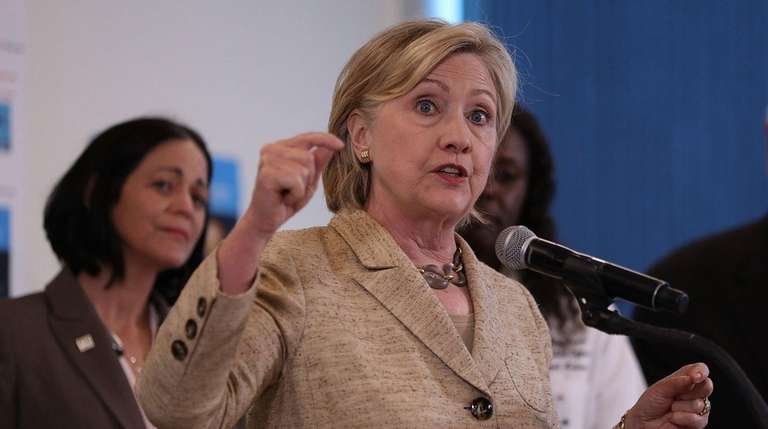 Democratic presidential nominee Hillary Clinton campaigns Aug. 8,