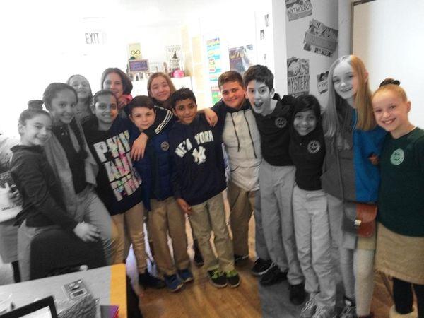 Kidsday classmates from Ivy League School in Smithtown.