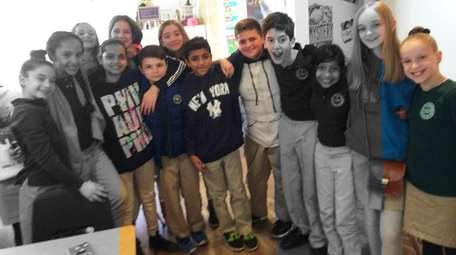 Kidsday classmates from Ivy League School in Smithtown.